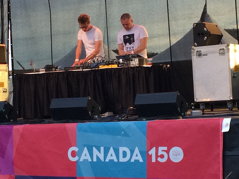 Garden City Electronic Music Society curated a live electronic music showcase for the Spirit of 150 Celebrations!