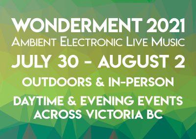 Wonderment 2021 – Live Ambient Music
